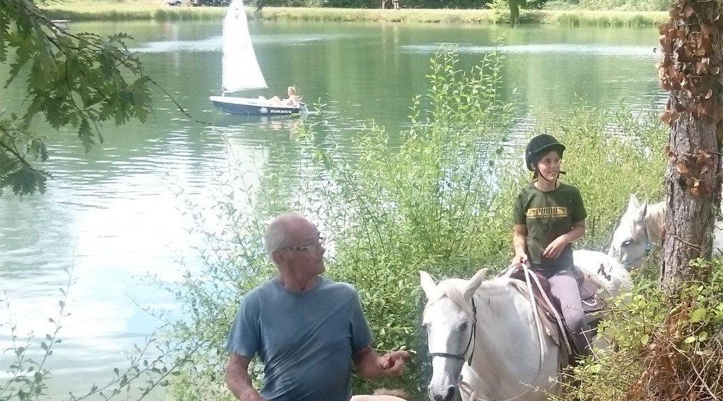 buitenrit Lac de Veronne