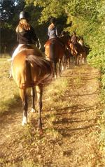 paardrijvakantie Lac de Veronne