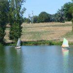 zeilbootje Lac de Veronne