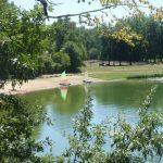 optimistjes aan het Lac de Veronne